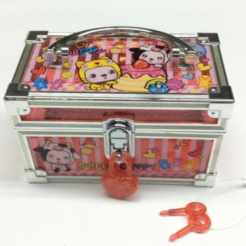 Plastic mini jewelry portable storage box
