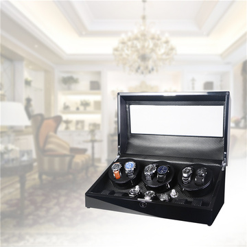 watch winder with battery control