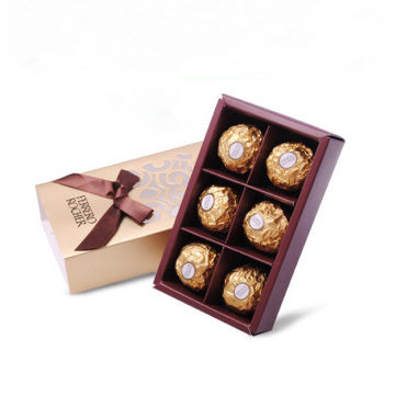 Customized Empty Food Box Macaron Chocolate Packaging Box