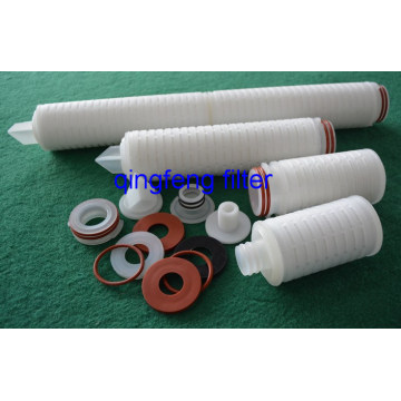 10inch Hydrophilic Pes Pleated Filter Cartridge