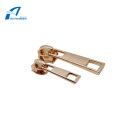 Gold Metal Zipper Puller Decorative Zipper for Bag