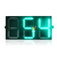 3 digital red green traffic light countdown timer