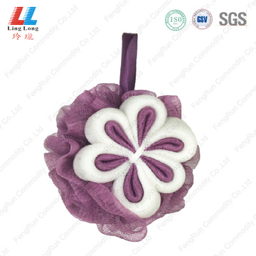 bath pouf body scrubber mesh bath sponge wholesale