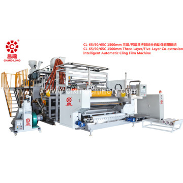 Automatic Stretch Cling Film Making Machine