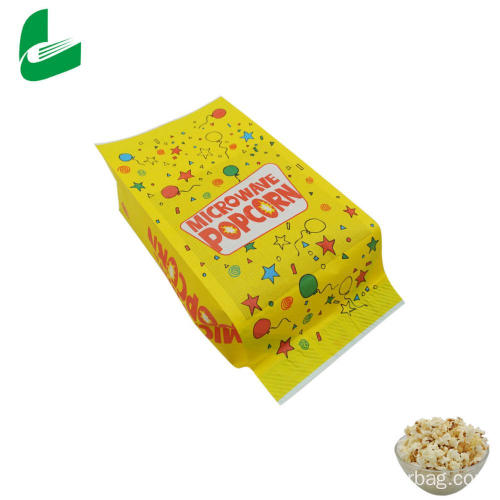 Kraft greaseproof kraft paper microwavable popcorn bag