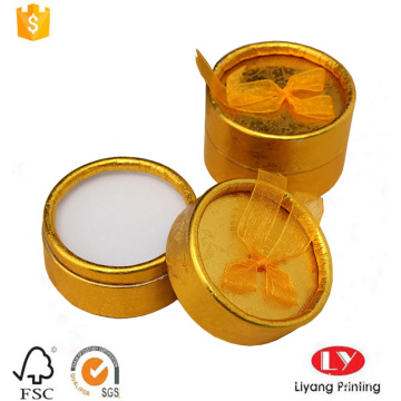 Round jewelry paper packaging gift box