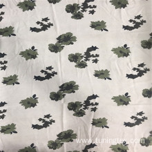 100% Polyester Yoyo Floral Print Fabric