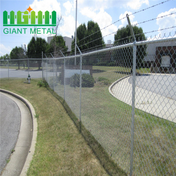 Electro galvanized chain link fencing hot sale
