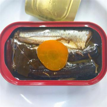 Morocco Style Canned Sardine in Oil With Chili