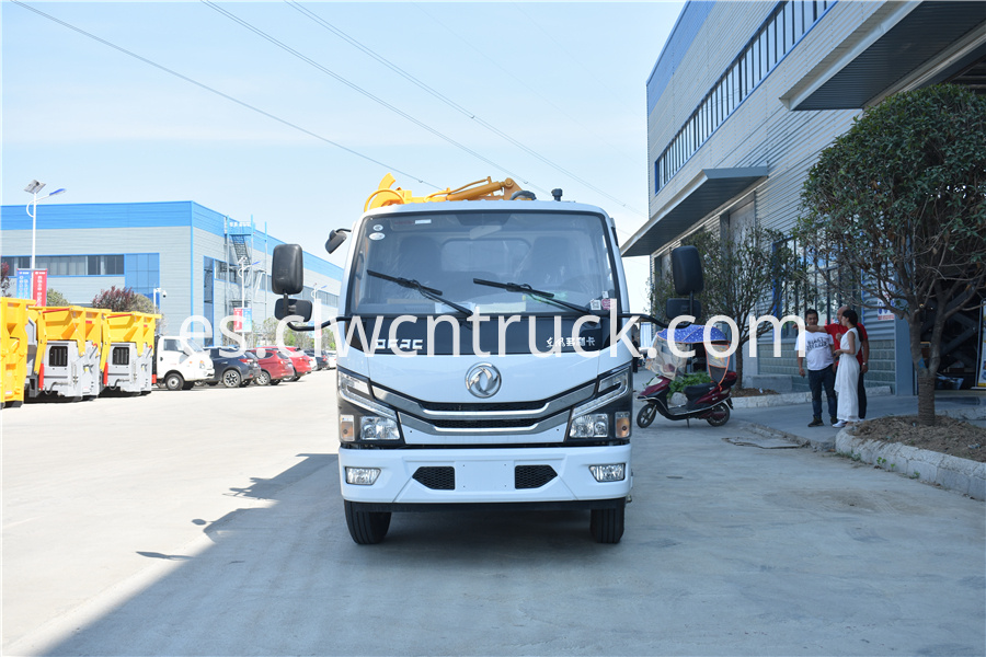 kitchen waste truck price