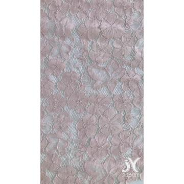 Cotton Nylon Rayon Lace Knit Fabric
