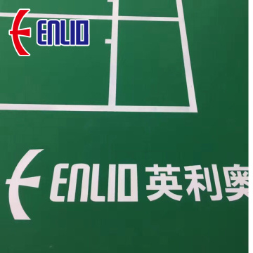 professional competition sports floor badminton court mats