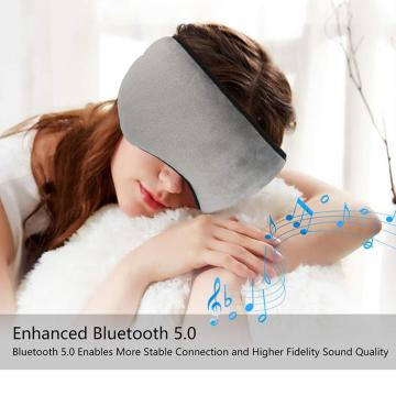Wireless soft comfortable music Eyemask Adjustable design