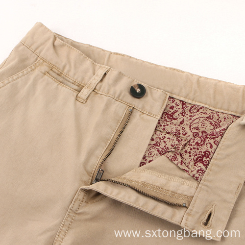 Custom Made High Quality Chino Neutral Casual Shorts