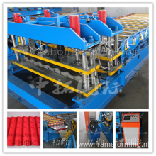 Colored Steel Sheet Roofing Tile Forming Machine