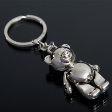 Fareast Hot Selling Metal Bear Keychain US