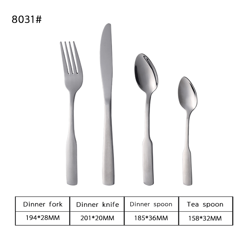 18/0 Dexterous Stainless Steel Tableware Wholesale