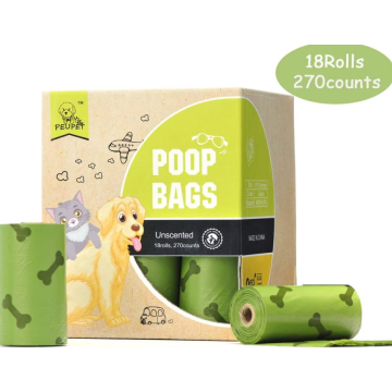 18 Refills Rolls Compostable Pet poop Bags