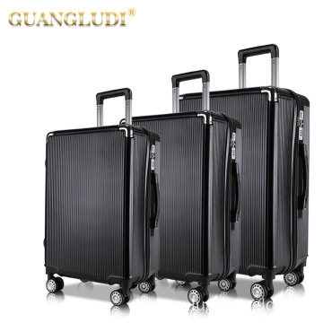 ABS PC high quality travel rolling suitcase