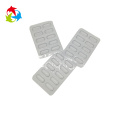 Clear PVC plastic capsule blister packaging