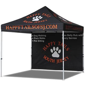 pop-up canopy with sides