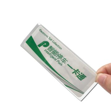 UHF windshield Label Tags Car Windshield label