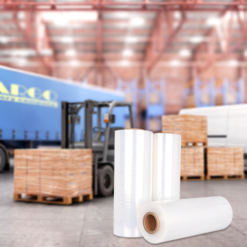 PE Shipping Wrap Industrial Pallet Stretch Wrap Rolls