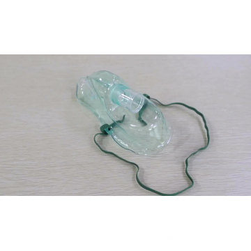 Customized disposable medical oxygen mask for hospital use