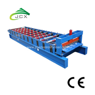 Trapezoidal Roofing Sheet Roll Forming Machine