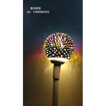 Outdoor Metal Dandelion Lights