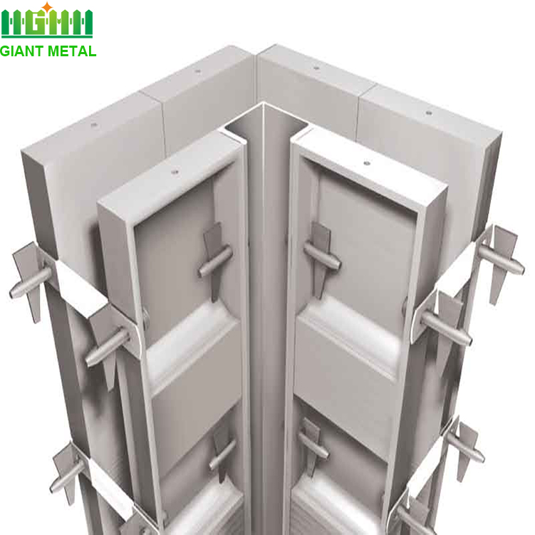 aluminum formwork for concrete structure