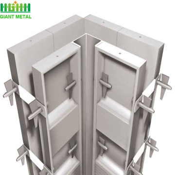aluminum plywood construction formwork for concrete forms