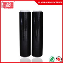 Black Manual LLDPE Pallet Wrapping Stretch Film
