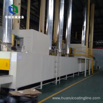 Multi-power Intelligent High-quality Automatic Aluminium Ceramic nano Coating System Line