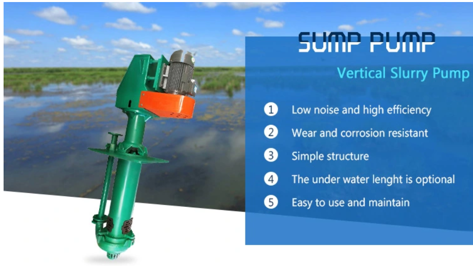 sump pump features