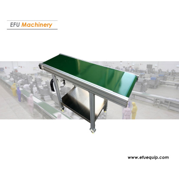 Linear belt conveyor system