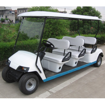 6seater sightseeing car with gasoline or electric power