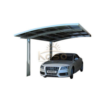 Aluminum Cantilever Outdoor Carport With Polycarbonate Sheet