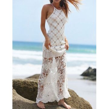 High Quality Summer Crochet Knit Dress