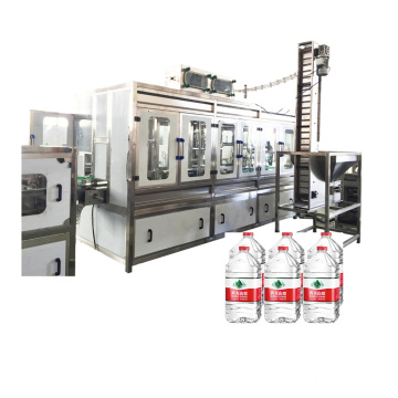 Small Capacity 6L 10L Water Filler Machine