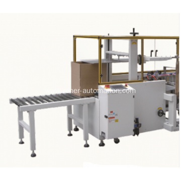 Carton automatic corner sealing machine