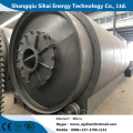 Waste tire extracting to fuel oil machine