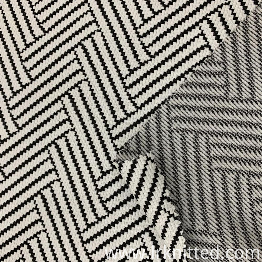Zebra Stripes Jacquard Cloth