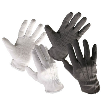 Car Driving Wear White Cotton hand Gloves