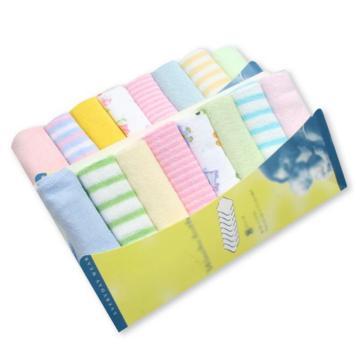 8pcs/pack Muslim Cotton Newborn Baby Towel Baby Wash Cloth Square Handkerchief Saliva Bib Care Towel Baby Wash Towel Newborn