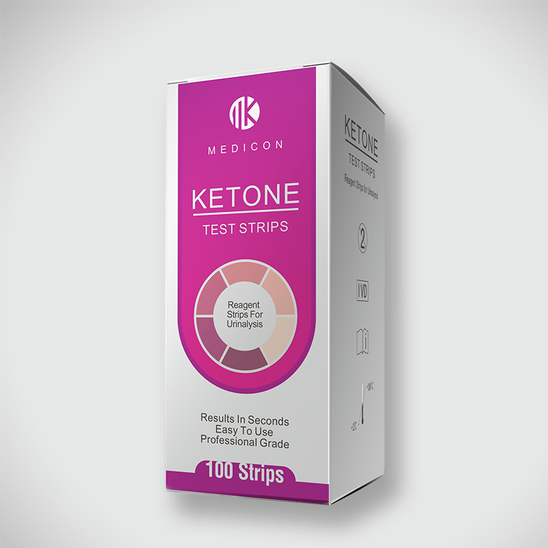 low-carb dieting ketone test strips