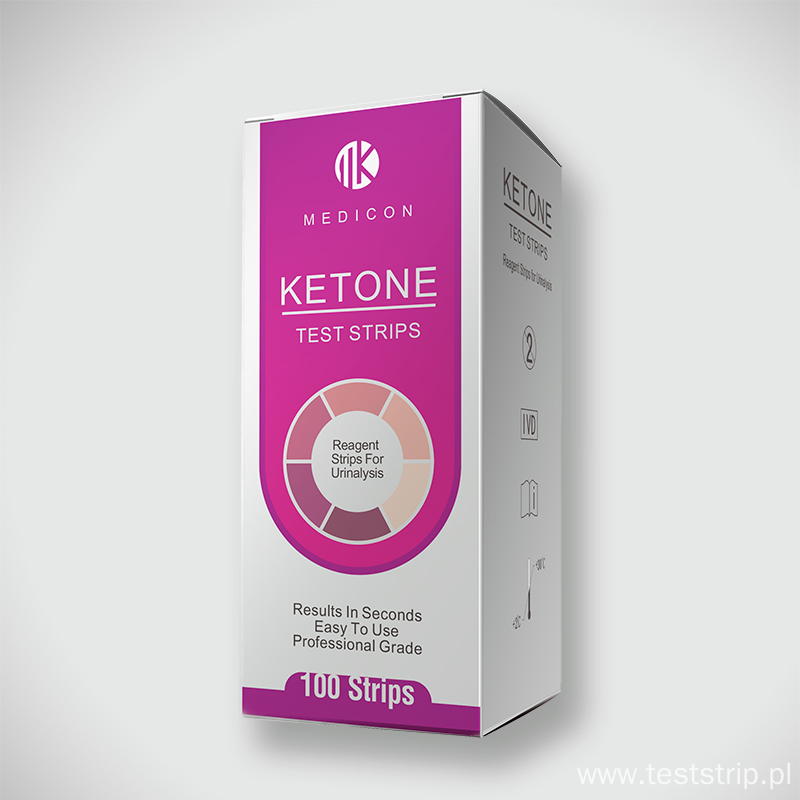 Amazon hot selling Ketone Keto Urine Test paper