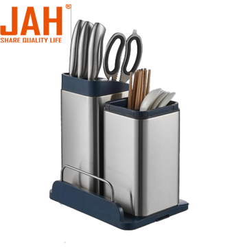 JAH knives and spoons holder with UV sanitizing
