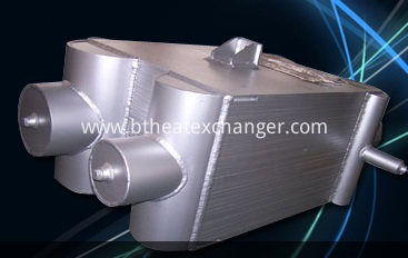 Air separation heat exchanger