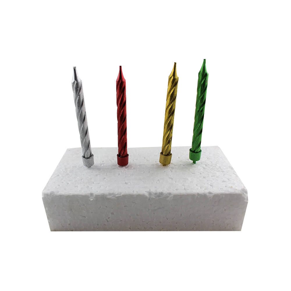 Hot Sell Sprial  Birthday Cake Candle